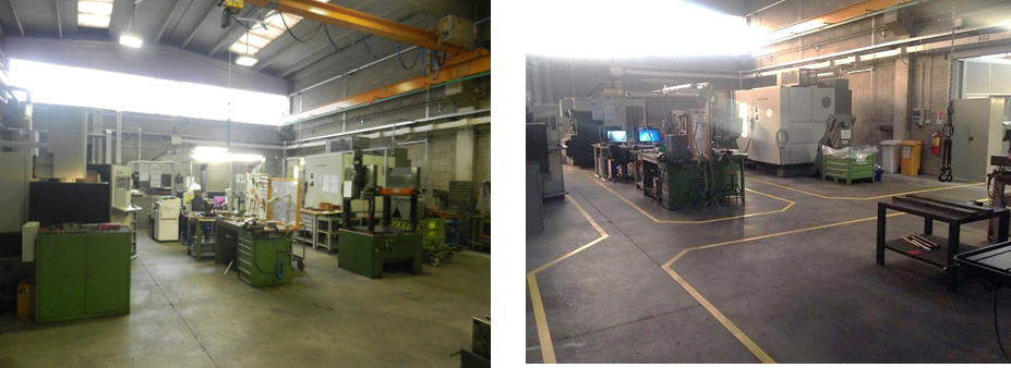Toolshop before and after 5S