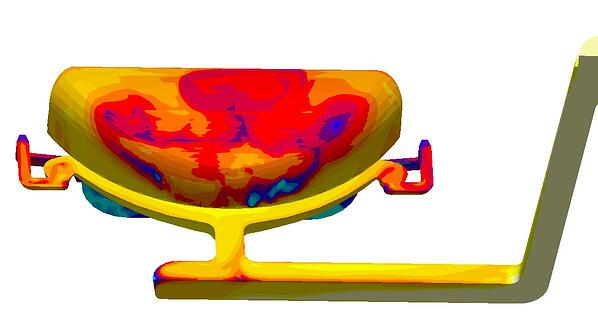 Simulation reduce casting defects