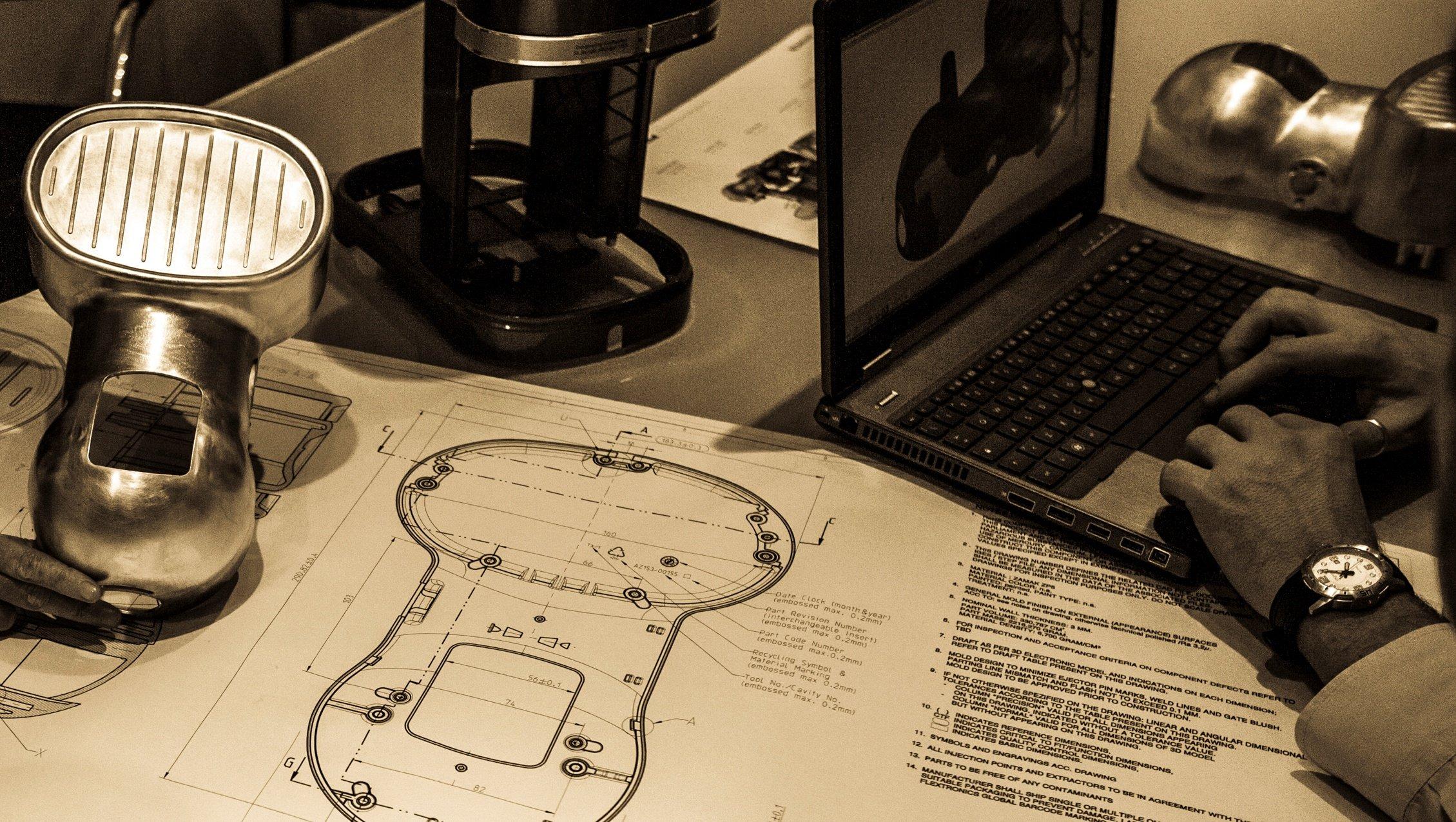 Co design zinc die casting Bruschi