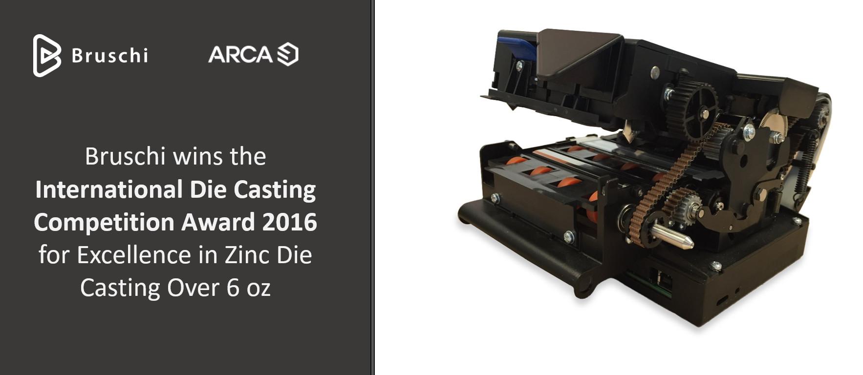 Bruschi spa wins NADCA award