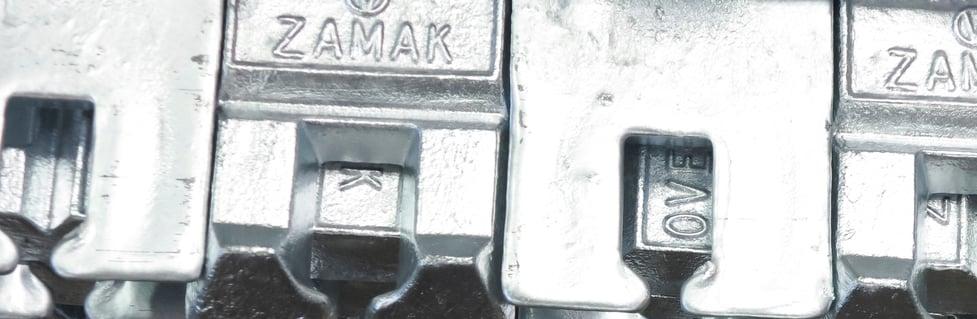 Vacuum valve zinc die casting