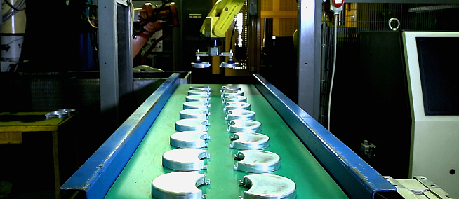 Automatic robots die casting